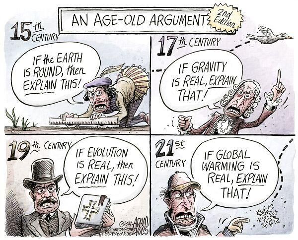 An age old argument - the false 'explain that' argument